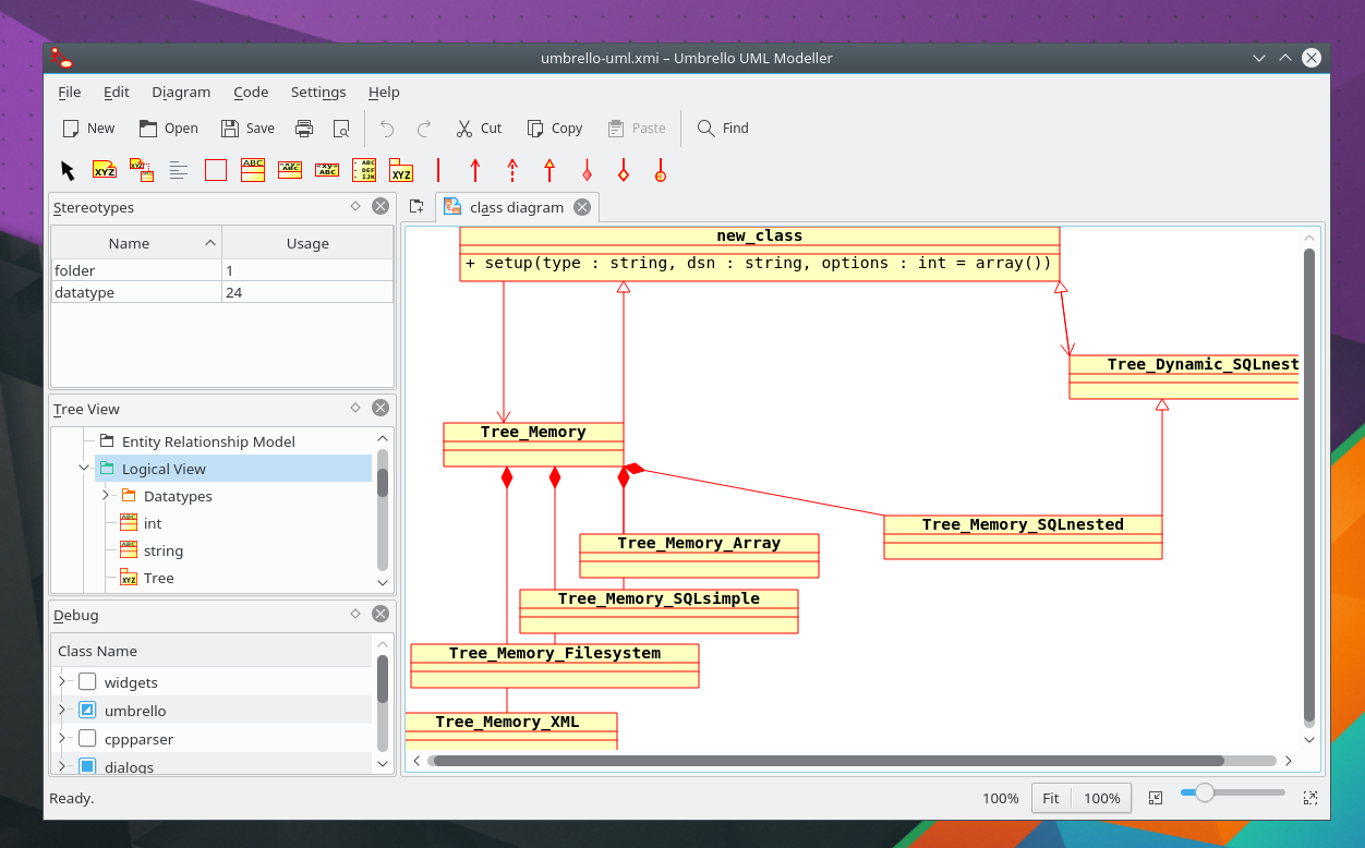 Umbrello project welcome to umbrello the uml modeller umbrello uml modeller is a unified modelling language uml diagram program based on kde technology ccuart Images